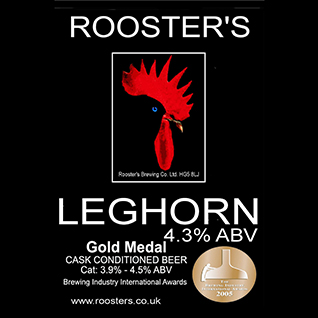 Rooster's Leghorn