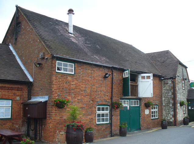 Brouwerij Hogs Back, Tongham, Surrey, Engeland.