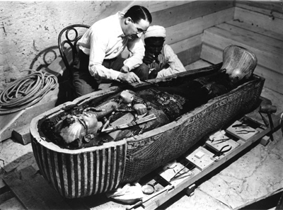 26-11-1922: Toetanchamons graf geopend door Howard Carter